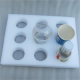 "PK-HOLDER-S2: Coffee Cup Holder, Fit Liquid Food Rigid, Avoid Spillage, 16"" L x 12"" W x 2"" H, Holds 9pcs"