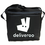"PK-21U: Chinese food delivery bags, small catering carrier, noodle takeaway, 12"" L x 8"" W x 11"" H"