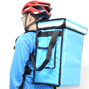 PK-33VLB: Creative food delivery bags, backpack for beverage delivery, Top Loading